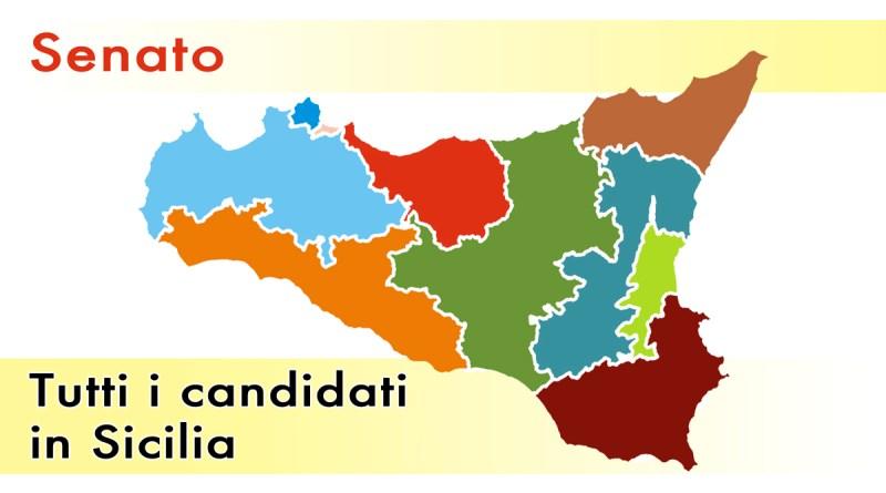Collegi in Sicilia elezioni al Senato