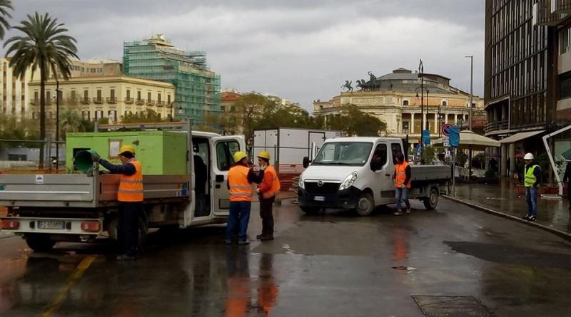 Piazza Castelnuovo chiusa al traffico, al via i lavori per l'anello ferroviario. Ecco come cambia la viabilità nella zona