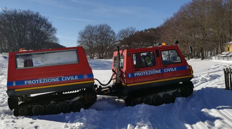 Impianti in funzione a Piano Battaglia: primo weekend sulla neve
