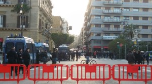 Piazza Croci prima manifestazione Forza Nuova