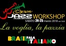 """La voglia, la pazzia"" workshop in canto italiano sulle note brasiliane all'Open Jazz"