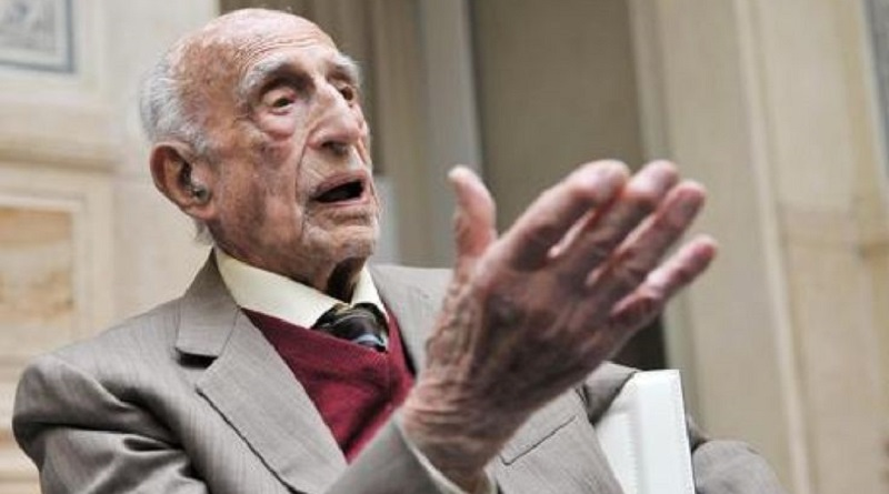 Il critico d'arte, filosofo e artista Gillo Dorfles è morto all'età di 107 anni: era cittadino onorario di Bagheria dal 2010