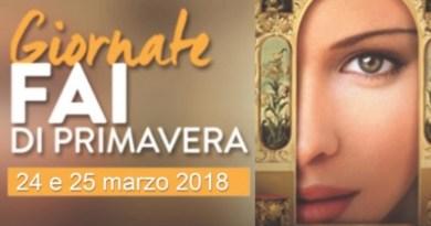 Il prossimo sabato 24 e domenica 25 marzo 2018 più di cento luoghi di interesse storico ed artistico in tutta la Sicilia apriranno i battenti con le Giornate Fai di Primavera