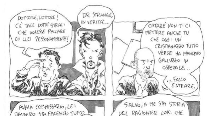 Cosa accadrebbe se il commissario più famoso d'Italia incontrasse gli Avengers?È la domanda che si è posto Massimiliano Favazza realizzando Marvel Montalbano