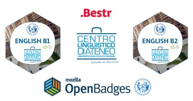 Open Badge, il nuovo attestato digitale per la conoscenza delle lingue dell'Università di Palermo