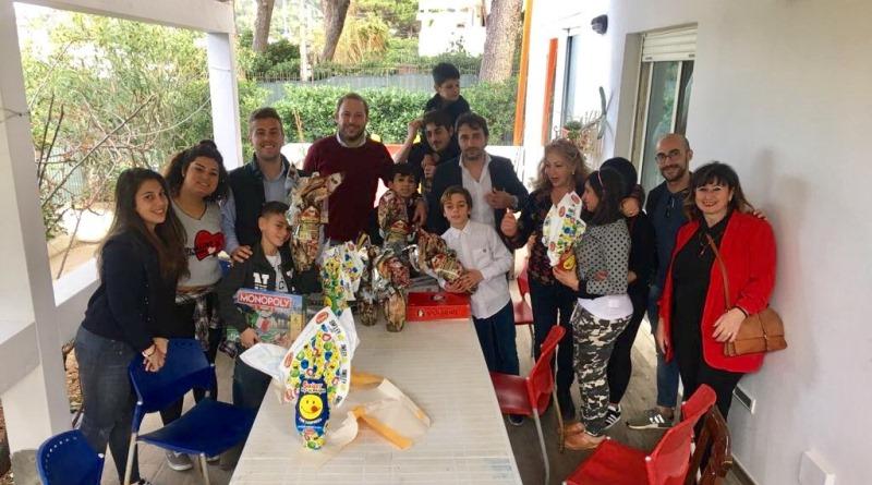 Smile for Children, Pasqua con sorpresa per i bambini di una casa famiglia di Palermo