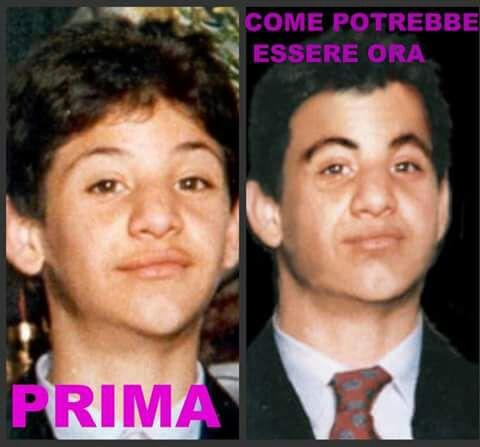 Salvatore Colletta scomparso ormai 26 anni fa quando era poco più che un bambino, inseme all'amico Mariano Farina.