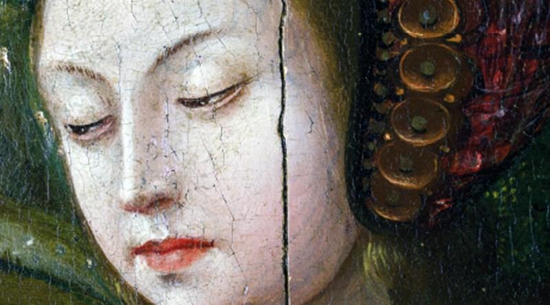 Santa Caterina d'Alessandria, anonimo fiammingo