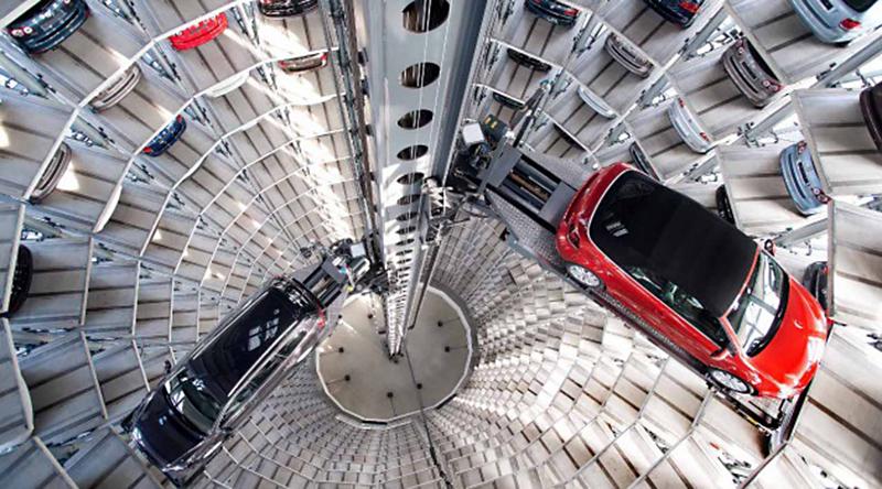 Distributore automatico di automobili a Wulfburg, Germania