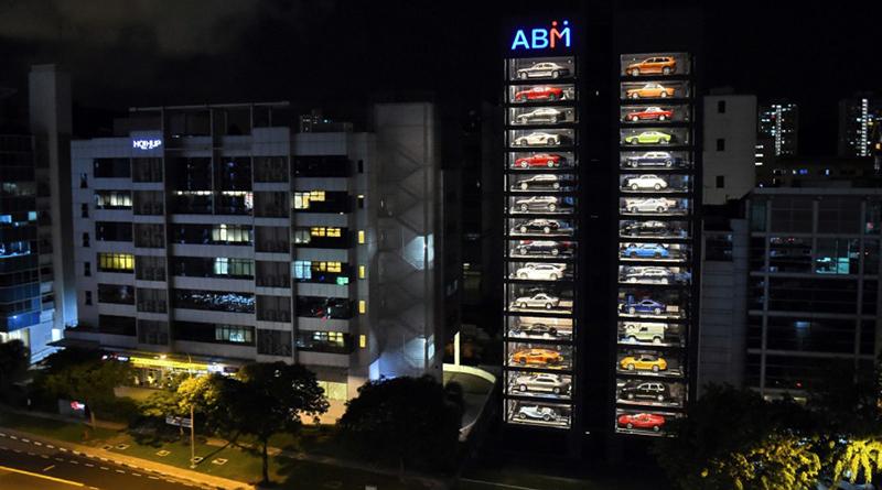 Distributore automatico di automobili a Singapore