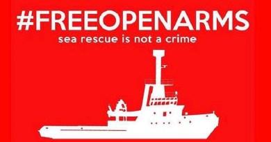 Sei manifestazioni, a Barcellona, Madrid, Palma, Alicante, Roma e Pozzallo, sono state organizzate dall'ong ProActiva contro il sequestro della nave ProActiva Open Arms avvenuto a Pozzallo