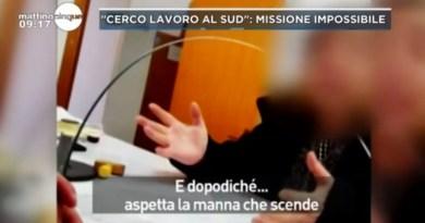 """Centri per l'impiego, l'addetto: """"Meglio cercare lavoro su internet"""". È il caso denunciato da Mattino 5 con un servizio girato a Palermo"""