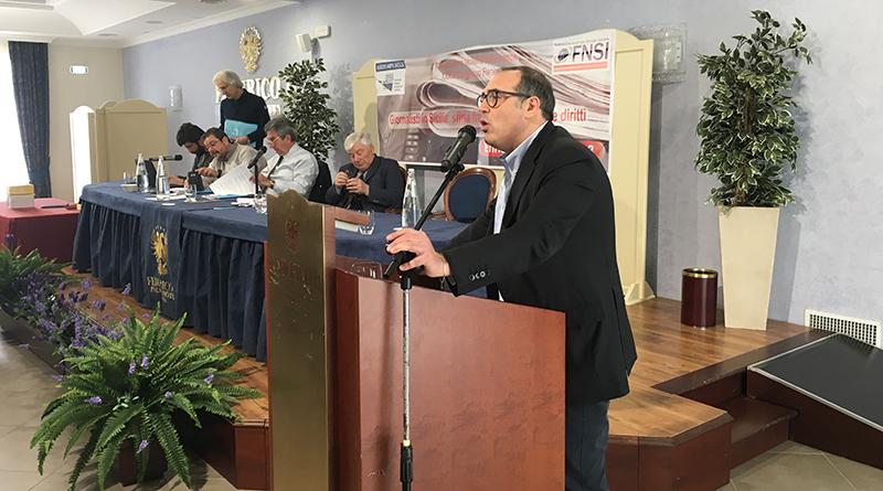 Roberto Ginex, segretario regionale Assostampa Sicilia