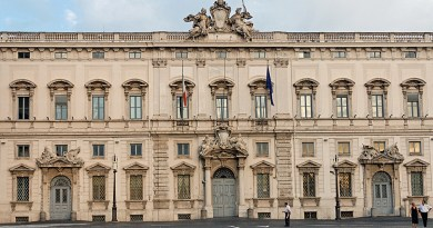 Palazzo della Consulta, sede della Corte Costituzionale