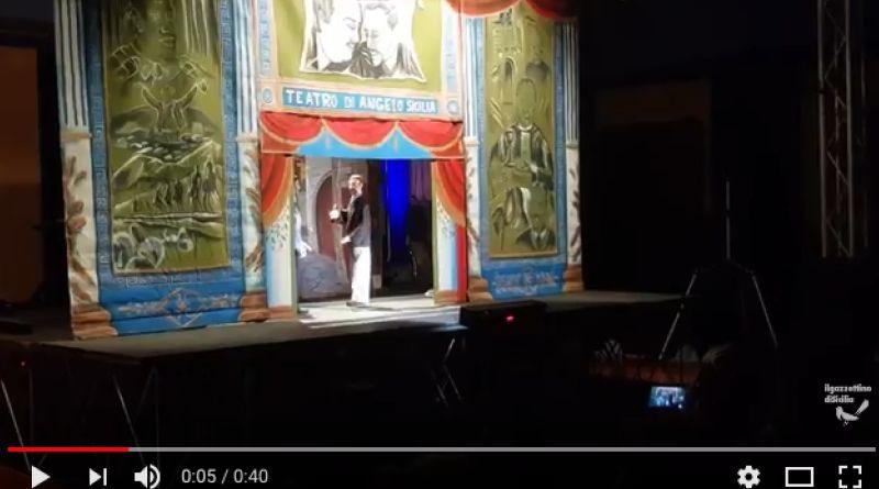 """Di questa storia ignobile parla """"Non mi piace il buio, prigionia e morte di Giuseppe Di Matteo"""", il nuovo spettacolo di Angelo Sicilia, fondatore della Marionettistica popolare siciliana e fondatore dei Pupi antimafia."""