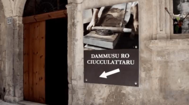 Gentiloni in visita al Dammusu ro ciucculattaru a Modica