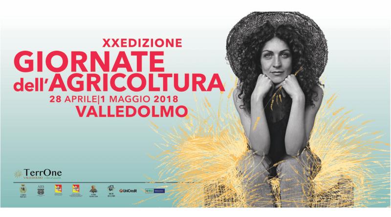 Il Comune di Valledolmo presenta la XX edizionedelle Giornate dell'Agricolturache si svolgerà da sabato 28 aprile a martedì Primo Maggio