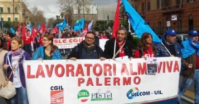 Almaviva Palermo, l'azienda tira dritto sulla newco. Sindacati sul piede di guerra