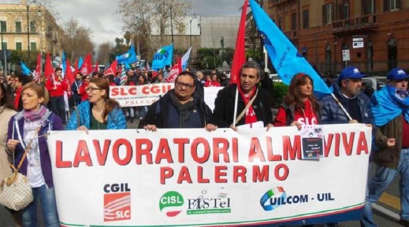 """Almaviva, Slc Cgil: """"Ci opporremo con tutte le nostra forze alla procedura di cessione di ramo d'azienda di Almaviva Contact. Bisogna rispettare l'accordo triennale"""""""