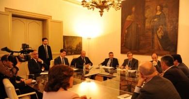 Agricoltura, Musumeci incontra deputati europei: tema del giorno la grave crisi di mercato che ha colpito il comparto ortofrutticolo nell'Isola