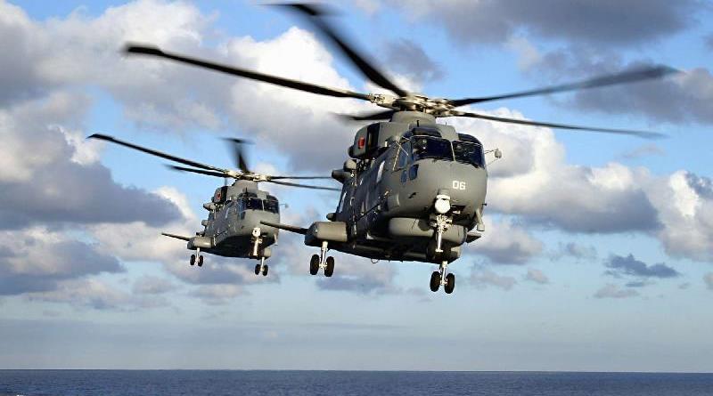Elicottero della Marina cade in mare: morto un militare in servizio a Catania