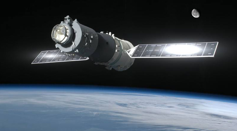satellite spaziale Tiangong1