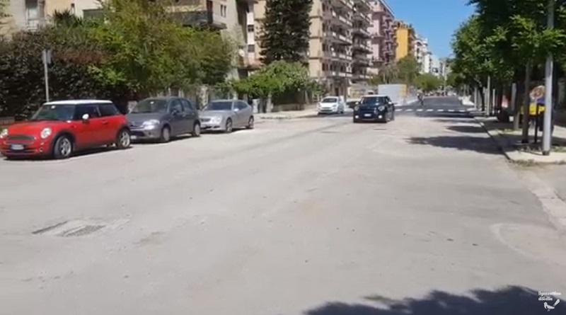 Riapre viale Lazio a Palermo dopo 3 anni di chiusura per i lavori dell'anello ferroviario. Questo pomeriggio, intorno alle 14.30, la prima auto in transito nel tratto tra via Libertà e viale Campania