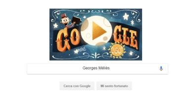 Georges Méliès, Google dedica un doodle al regista ed illusionista francese