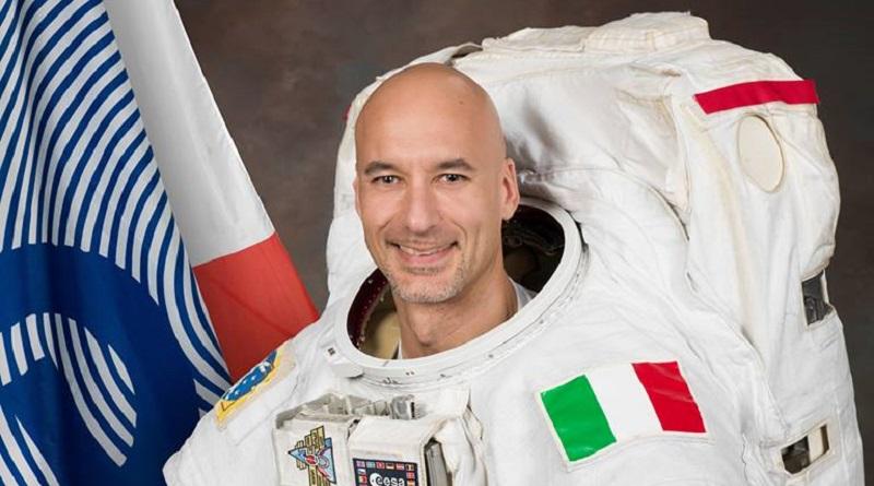 L'astronauta dell'Esa e colonnello dell'aeronautica militare, il siciliano Luca Parmitano