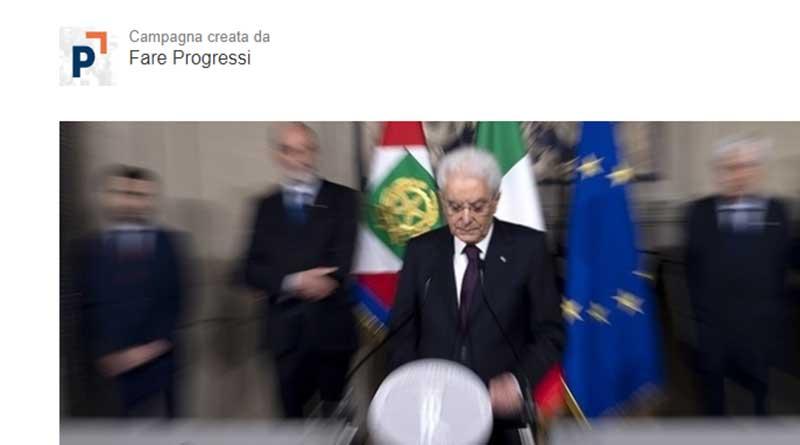 """""""Io sto con Mattarella"""", online una petizione contro gli attacchi al Presidente della Repubblica"""