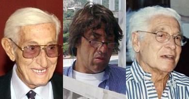 Renzo, Ferruccio e Renzino Barbera