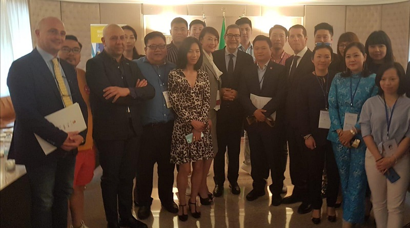 Operatori turistici cinesi in Sicilia per trovare accordi con aziende locali con il 3° Forum internazionale Eusair che si svolgerà questa settimana nell'isola