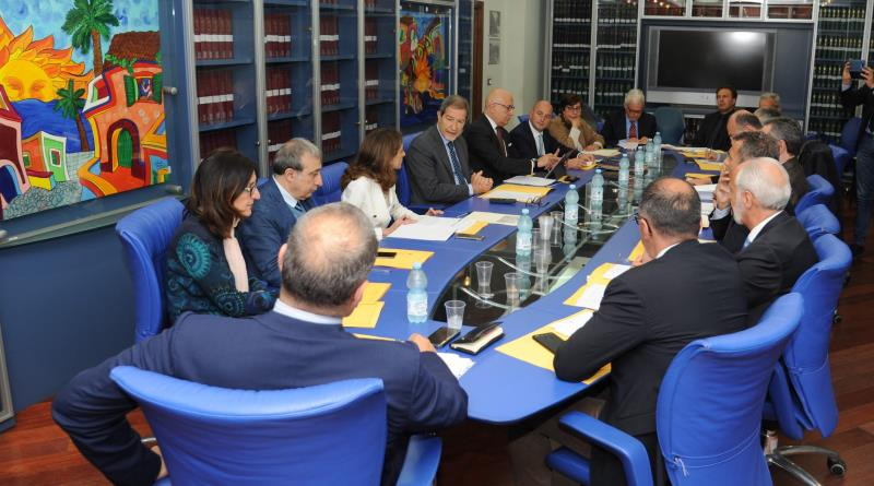 """Una cabina di regia per le Zes. Musumeci: """"Grande opportunità di sviluppo per la Sicilia"""""""