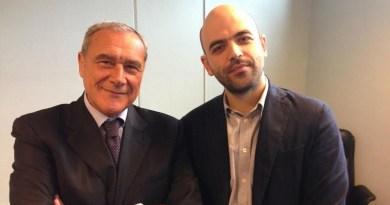 """Grasso: """"Dobbiamo scegliere da che parte stare, se con Saviano o con Salvini"""""""
