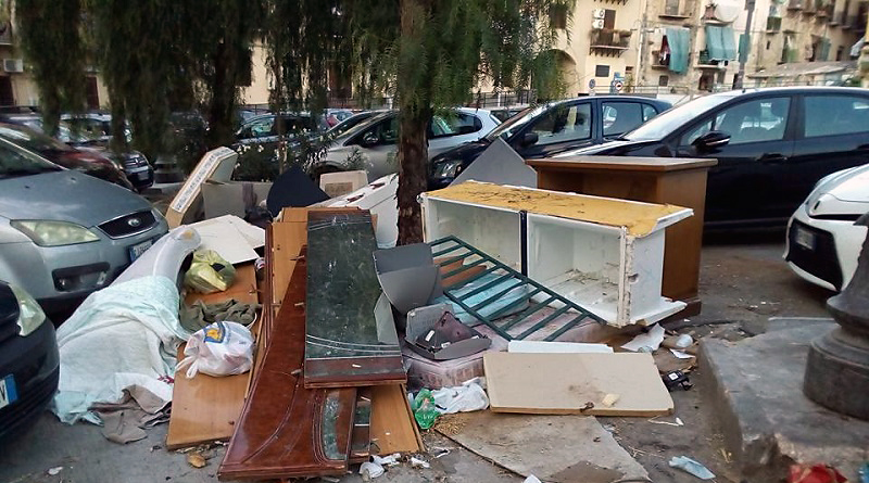 Munnizza a Palermo