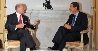L'ambasciatore degli Stati Uniti d'America in Italia, Lewis M. Eisenberg a colloquio con il presidente della Regione Nello Musumeci e in visita all'Ismett