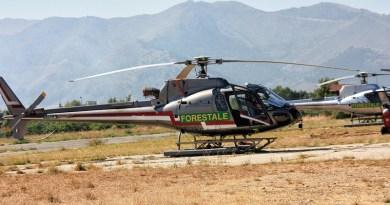 Una flotta di sei elicotteri verrà schierata nei prossimi giorni dalla Regione Siciliana per la campagna antincendio boschivo