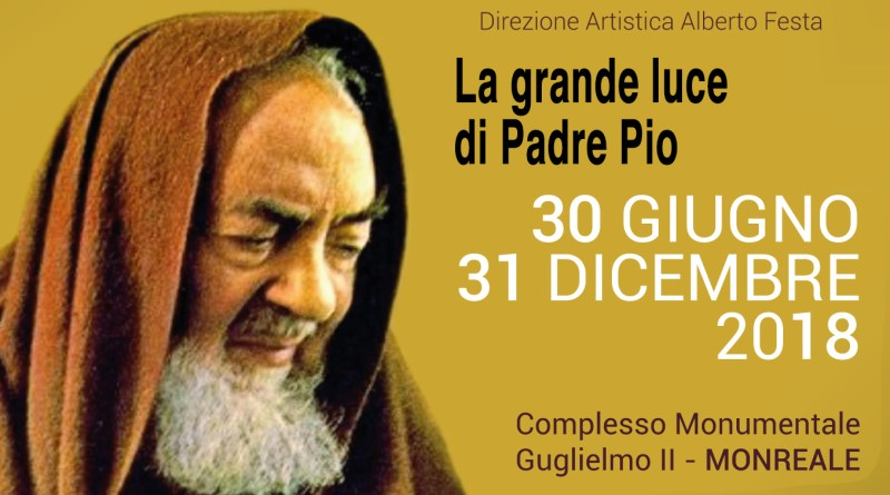 Mostra Padre Pio a Monreale