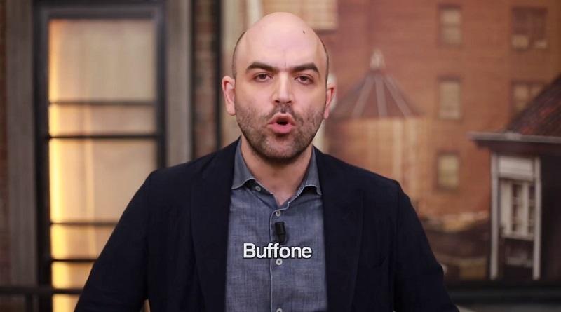 Dopo le parole di Pietro Grasso in difesa di Roberto Saviano, è lo stesso autore di Gomorra a pubblicare un lungo post corredato da un video in cui attacca il ministro Matteo Salvini definendolo un buffone