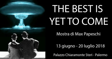The best is yet to come di Max Papeschi