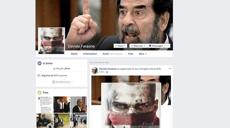 Davide Faraone Saddam Hussein hacker
