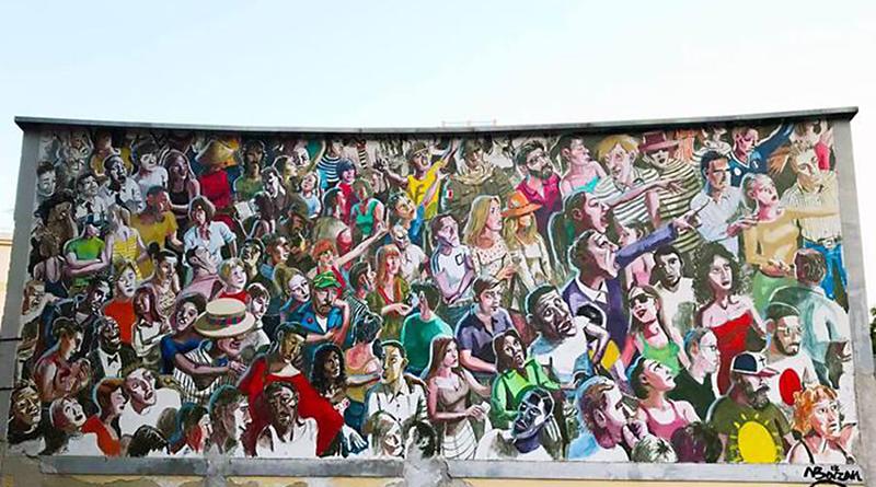 Murales ex Arena Tukory