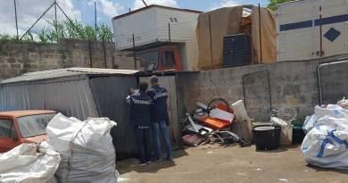alermo, sequestrato alla Zisa impianto abusivo di gestione rifiuti: 4 denunce