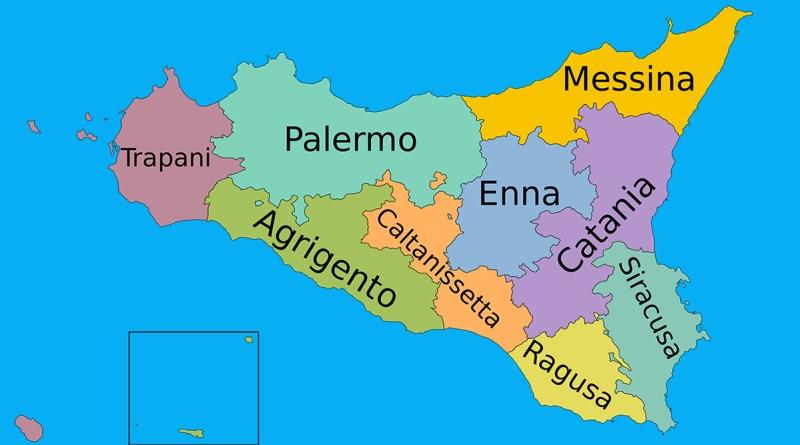 Ex province Sicilia
