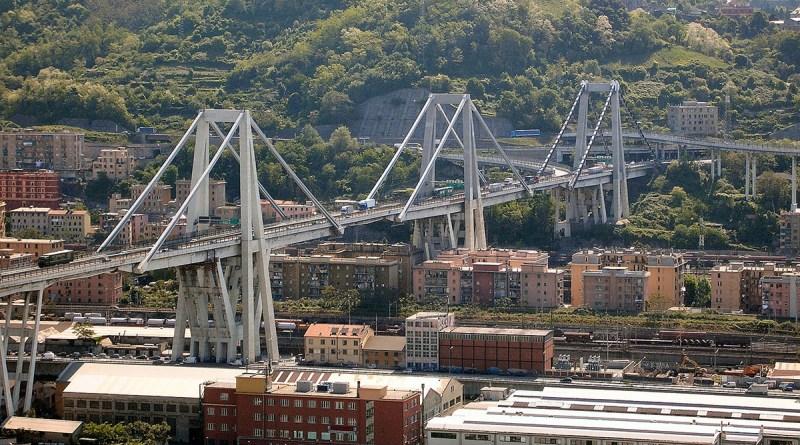 Ponte Morandi a Genova, prima del crollo