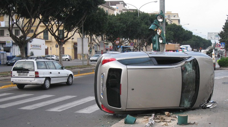 Incidente stradale a Palermo