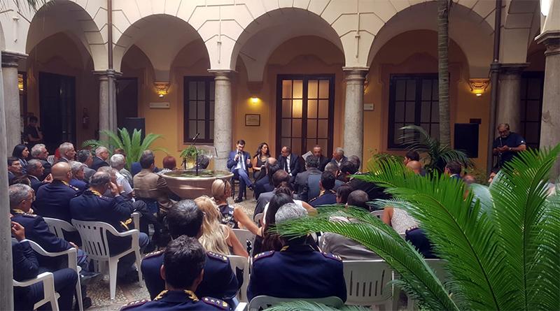Chiostro Questura di Palermo