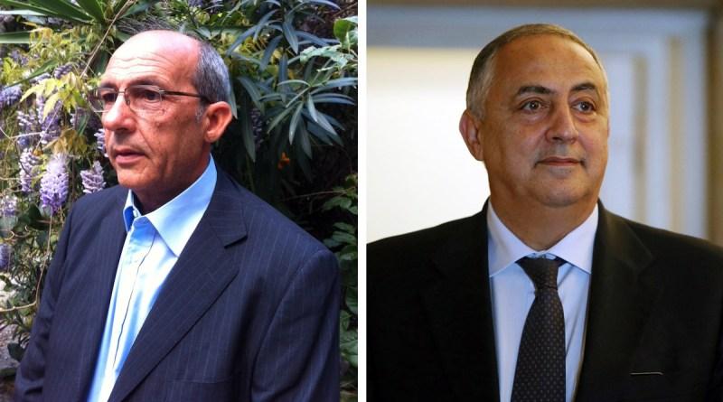 Giuseppo Amodei e Roberto Lagalla
