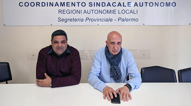 Mario Mingrino e Vito Sardo, Csa