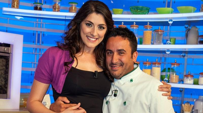 Natale Giunta ed Elisa Isoardi alla Prova del Cuoco